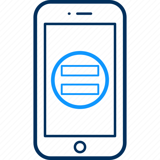 device, in, log, mobile, smartphone, technology, user id icon