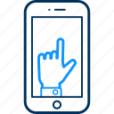 bookmark, communication, favourite, hyperlink, like, mobile, smartphone icon