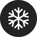 snow, snowflake icon