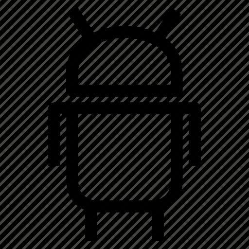 android, artificial, automaton, cyborg, fiction, robot, sci fi icon