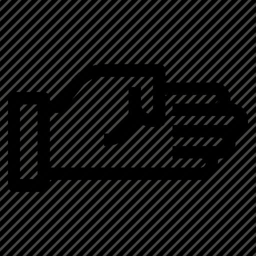 directing, hand, indicating, signaling, stop, stopping icon