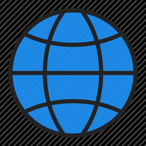 earth, global, globe icon