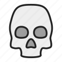 corpse, death, skull icon