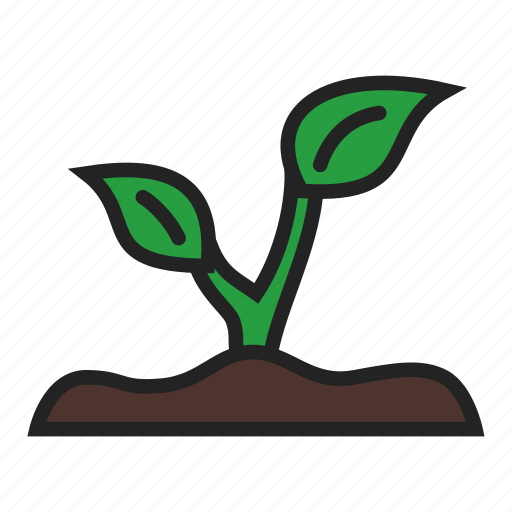eco, plant, sprout icon