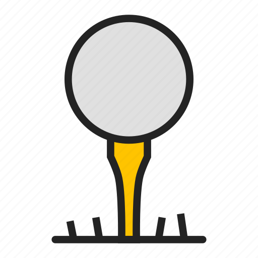 ball, club, golf icon