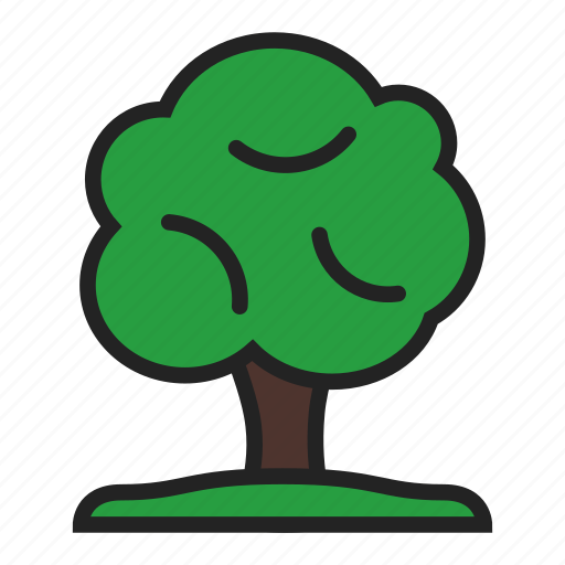 eco, nature, tree icon