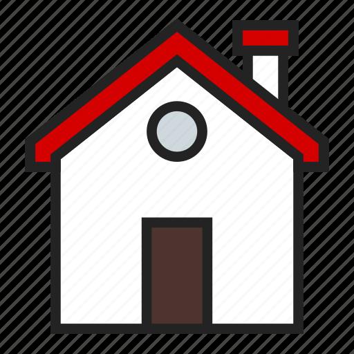 home, house, main icon