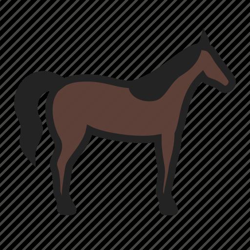 farm, horse, pony icon
