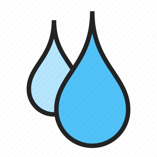 drop, oil, water icon