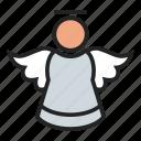 angel, cherub, cupid icon