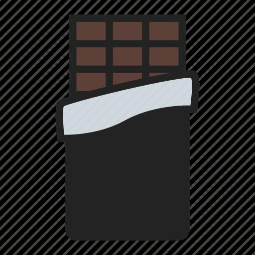bar, candy, chocolate icon