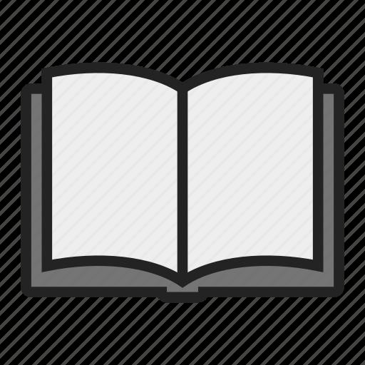 book, text, textbook icon
