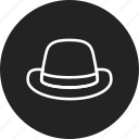 hat, retro, vintage icon
