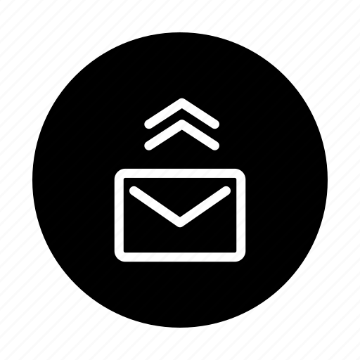 email, mail, message, sending icon