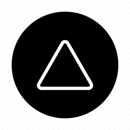 Arrow, geometry, shape, triangle icon - Download on Iconfinder