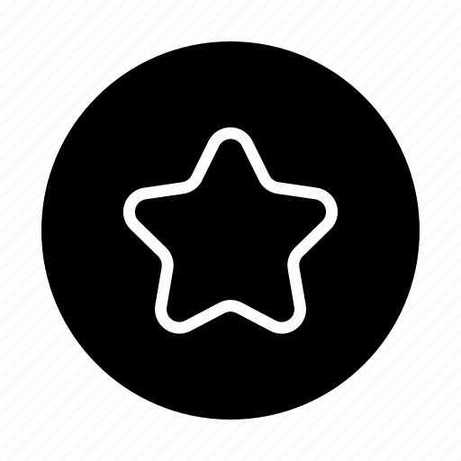 Bookmark, rating, favorite, star, award icon