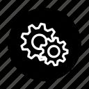 gear, loading, setting, wait icon