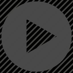 audio, film, movie, music, play, sound, video icon