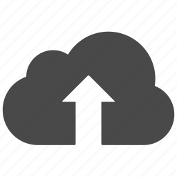 cloud, clouds, up, upload icon