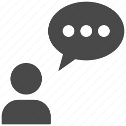 chat, message, sms, talk icon