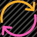 arrows, ⦁ refresh, ⦁ reload, ⦁ syncicon icon