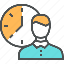 appointment, employe, event, schedule, time, timing