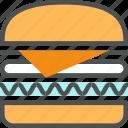 burger, fastfood, food, hamburger, junk food, street food