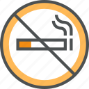 attention, forbidden, no, no smoking, smoking, warning icon
