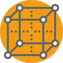 box, bussines, internet, management, network, structure icon