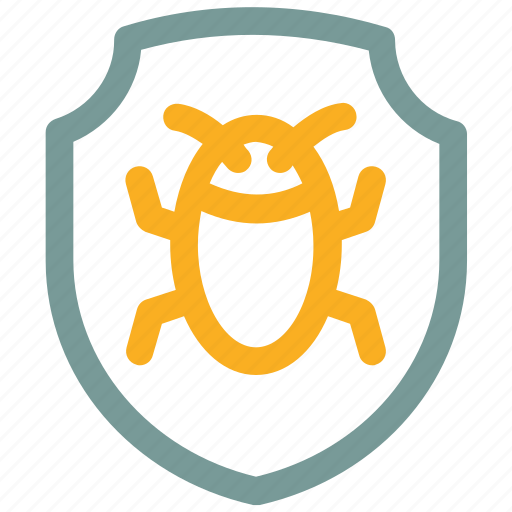 Bug, ⦁ protect, ⦁ protection, ⦁ safety, ⦁ shieldicon icon - Download on Iconfinder