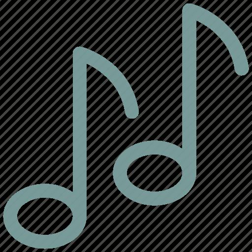music, ⦁ note, ⦁ sign, ⦁ soundicon icon