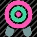 objective, ⦁ precision, ⦁ statement, ⦁ targeticon icon
