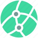 global, ⦁ network icon