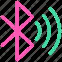 bluetooth, ⦁ signalicon icon