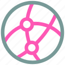 global, ⦁ networkicon icon
