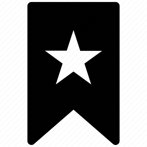 favorite, flag, label, star, ⦁ likeicon icon