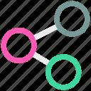 share, ⦁ social mediaicon icon