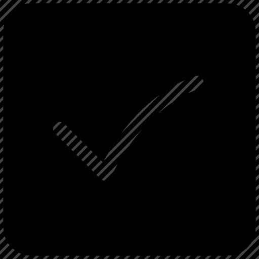 accept, ⦁ app, ⦁ check, ⦁ tickicon icon