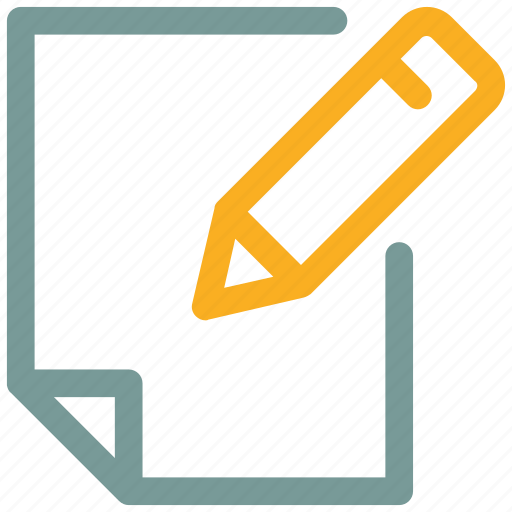 note, paper, write icon icon