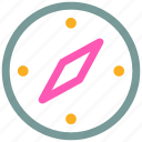 compass, location, navigator, travel icon icon
