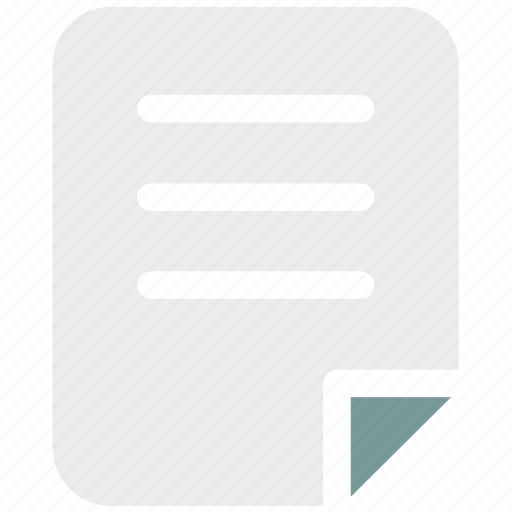 Document, ⦁ file, ⦁ letter, ⦁ pageicon icon - Download on Iconfinder