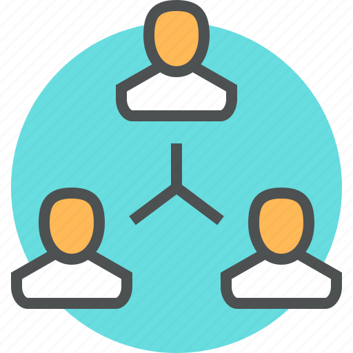 business, group, office, team, team work icon