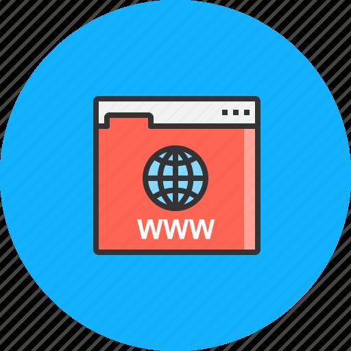 connect, internet, network, online, web, website, www icon
