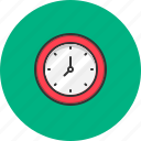 clock, schedule, time, wall clock icon
