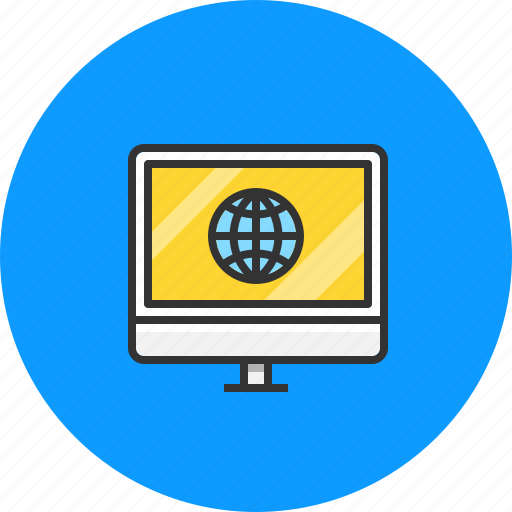 communication, connection, internet, online, web icon