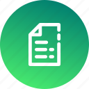 archive, document, extension, file, format, office, paper icon