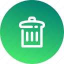 bin, delete, environment, garbage, minus, remove, trash