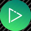 communication, instrument, media, multimedia, music, play, speaker icon
