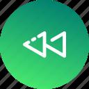game, multimedia, play, player, sound, undo, video icon