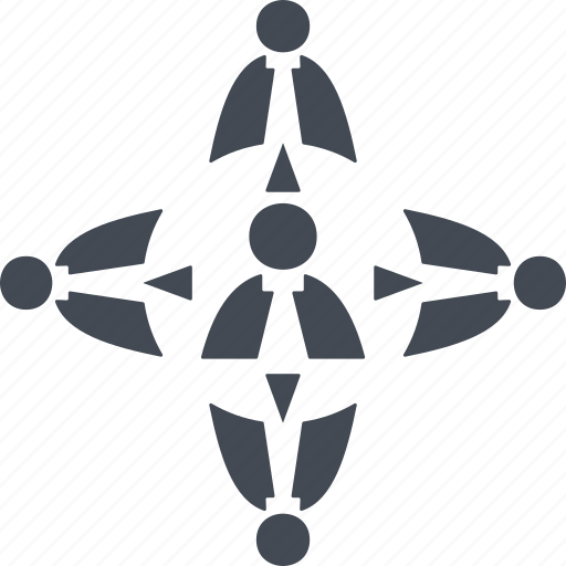 business, marketing, mlm, network, structure icon